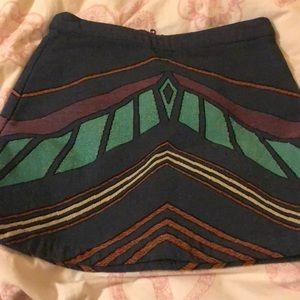 top shop skirt us 2